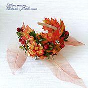 Украшения handmade. Livemaster - original item Children`s rim Autumn. Headband Fall. Autumn festival.. Handmade.