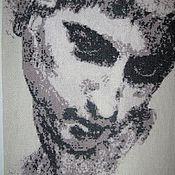 """Картины и панно ручной работы. Ярмарка Мастеров - ручная работа Вышитая картина """"Аполлон"""". Handmade."""