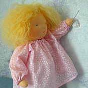 Куклы и игрушки ручной работы. Ярмарка Мастеров - ручная работа Вальдорфская кукла-девочка  45-50см. Handmade.