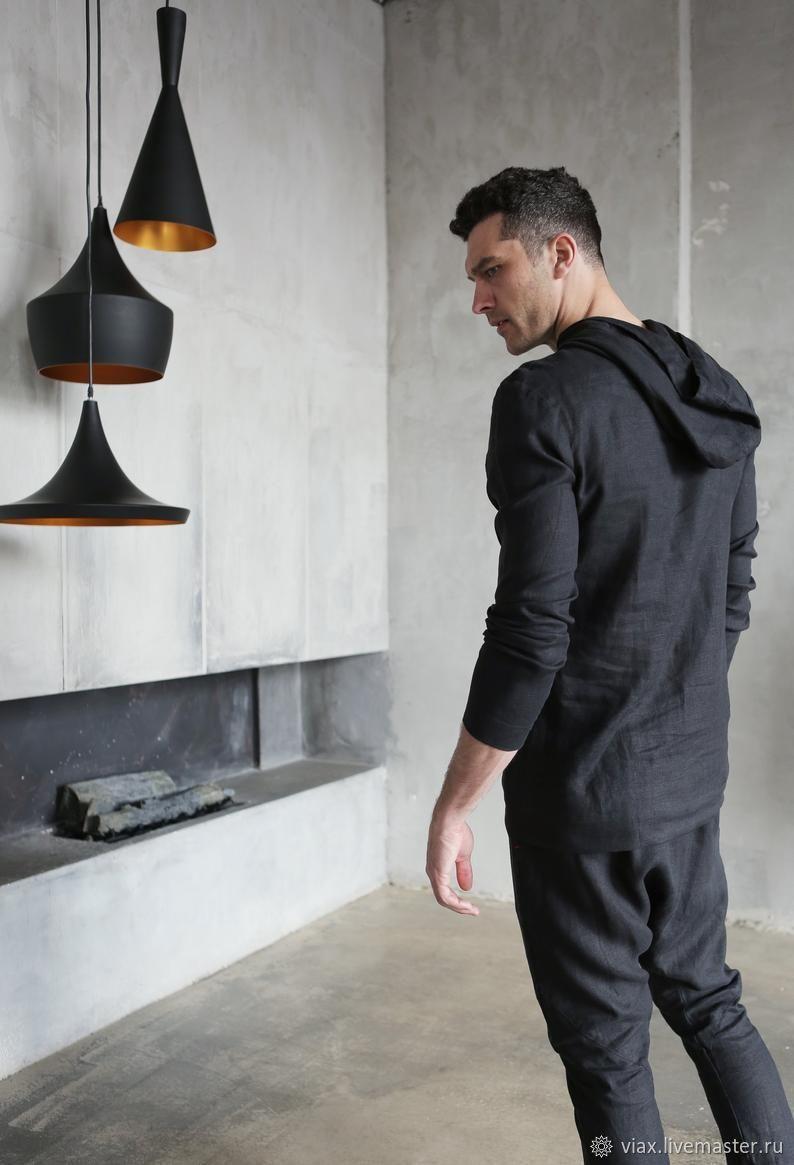 Men's suit: linen suit trousers and hoodies, Mens suit, Rostov-on-Don,  Фото №1