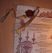 Свадебный салон ручной работы. Ярмарка Мастеров - ручная работа Свадебное приглашение (свиток). Handmade.