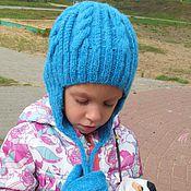 Работы для детей, ручной работы. Ярмарка Мастеров - ручная работа Зимняя шапка. Handmade.