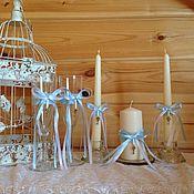 """Свадебный салон ручной работы. Ярмарка Мастеров - ручная работа Свадебный комплект  """"Нежность"""". Handmade."""
