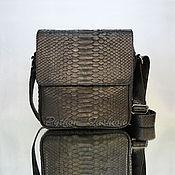 Сумки и аксессуары handmade. Livemaster - original item Handbag made of Python skin ROBERTO. Handmade.