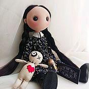 Куклы и пупсы ручной работы. Ярмарка Мастеров - ручная работа Wednesday Addams. Handmade.