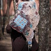 """Аксессуары ручной работы. Ярмарка Мастеров - ручная работа """"Март"""", шаль-платок. Handmade."""