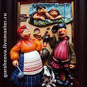 """Картины и панно ручной работы. Ярмарка Мастеров - ручная работа """"Устали"""". Handmade."""