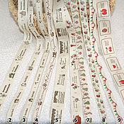 Материалы для творчества ручной работы. Ярмарка Мастеров - ручная работа Этикетки- нашивки Handmade. Handmade.