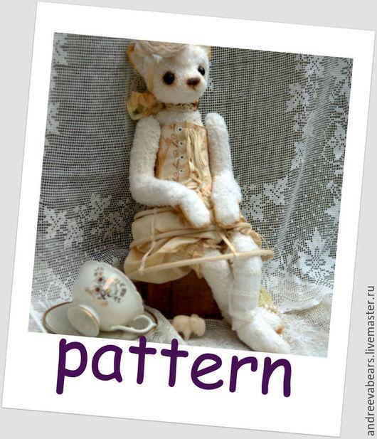 """Куклы и игрушки ручной работы. Ярмарка Мастеров - ручная работа. Купить Выкройка""""Кошка"""". Handmade. Разноцветный, тедди, кошка, выкройка, pdf"""
