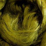 Шерсть ручной работы. Ярмарка Мастеров - ручная работа Вискоза для валяния 50 гр. спелый лайм. Handmade.