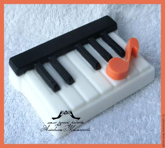 """Мыло ручной работы. Ярмарка Мастеров - ручная работа. Купить Мыло ручной работы """"ОКТАВА"""". Handmade. Клавиши, фортепиано"""