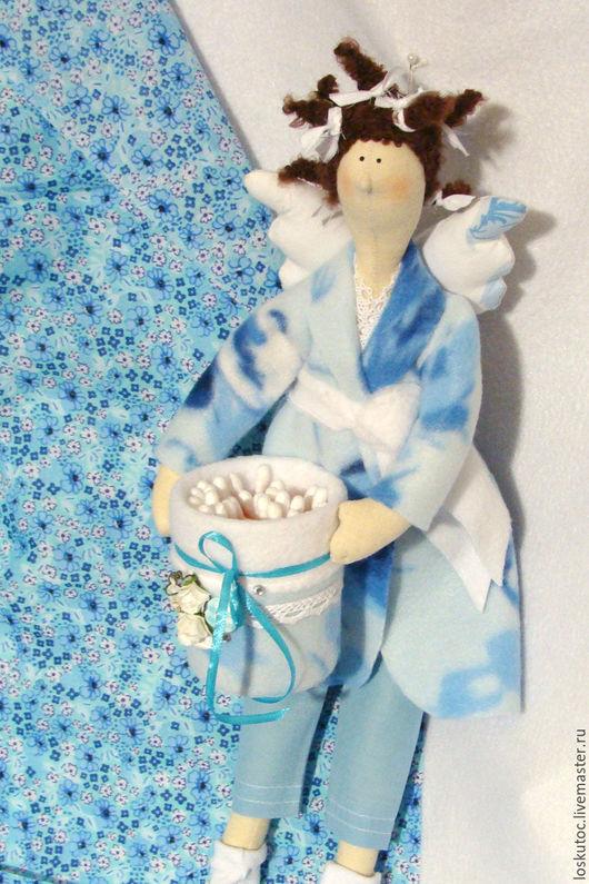 Куклы Тильды ручной работы. Ярмарка Мастеров - ручная работа. Купить БАННАЯ ФЕЕЧКА. Handmade. Бежевый, бязь неотбеленная
