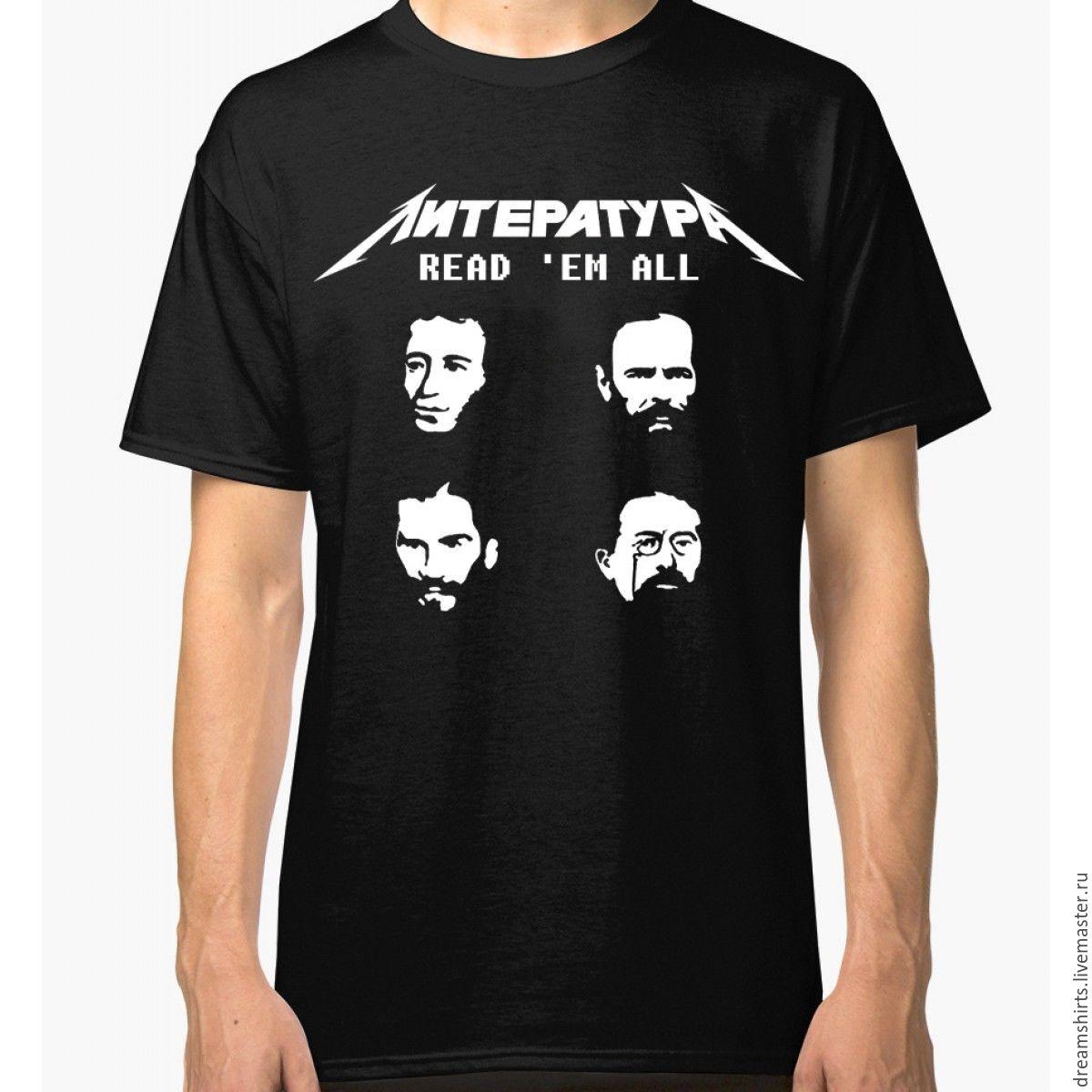 "Футболка хлопковая ""Литература"", T-shirts, Moscow,  Фото №1"
