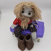 Игрушки ручной работы. Ярмарка Мастеров - ручная работа Игрушки: домовёнок Кузьма. Handmade.