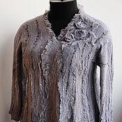 Одежда ручной работы. Ярмарка Мастеров - ручная работа Валяная блузка Monsoon. Handmade.