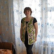 Одежда ручной работы. Ярмарка Мастеров - ручная работа Жилет ирландское кружево. Handmade.