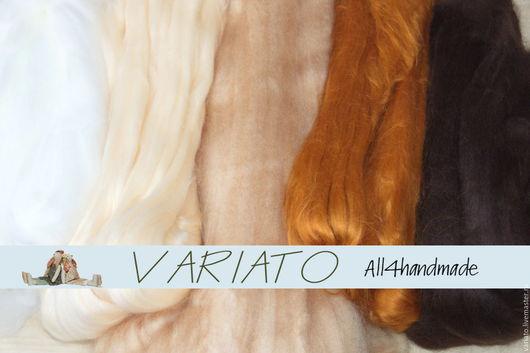 Куклы и игрушки ручной работы. Ярмарка Мастеров - ручная работа. Купить Акрил для кукольных волос 5 цветов. Handmade. Бежевый