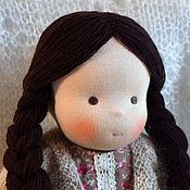 Куклы и игрушки ручной работы. Ярмарка Мастеров - ручная работа Светочка, вальдорфская кукла. Handmade.