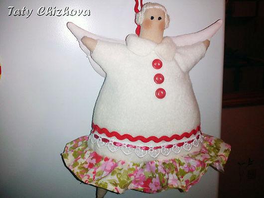 Куклы Тильды ручной работы. Ярмарка Мастеров - ручная работа. Купить Пирожный ангел Дуняша. Handmade. Пирожный ангел