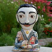 Для дома и интерьера handmade. Livemaster - original item Salvador Dali and the bee. Sculptural vase. Handmade.