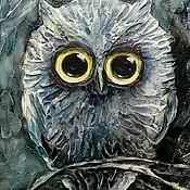 """Картины и панно ручной работы. Ярмарка Мастеров - ручная работа """"Ночной дозор"""" рельефное панно. Handmade."""