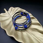 Украшения handmade. Livemaster - original item Bracelet made of agate hematite rubber