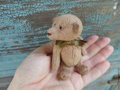 Мишки Тедди ручной работы. Ярмарка Мастеров - ручная работа. Купить мишка Пряник. Handmade. Бежевый, мишка-тедди