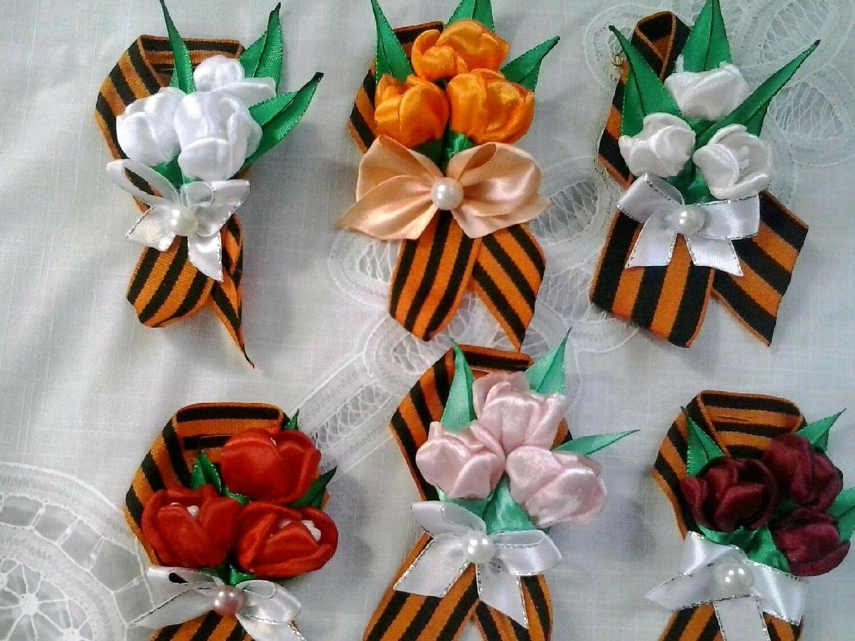 Цветы из ткани своими руками для начинающих мастер класс с