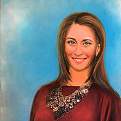 Картины и панно ручной работы. Ярмарка Мастеров - ручная работа Портрет Татьяны. Handmade.