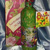 Сувениры и подарки ручной работы. Ярмарка Мастеров - ручная работа Подарочная бутылочка. Handmade.