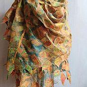 Аксессуары handmade. Livemaster - original item Stole-cobweb felted Waltz Boston. Handmade.