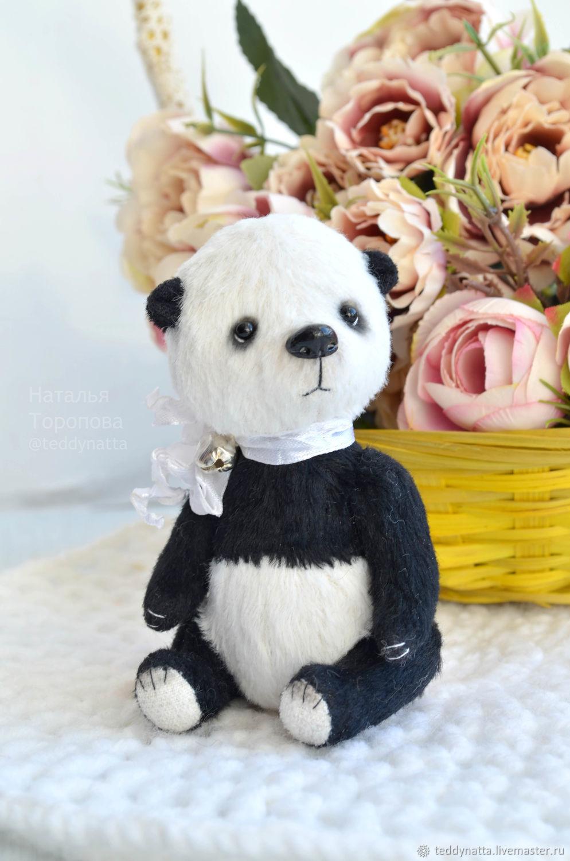 Панда тедди (13 см), Тедди Зверята, Курган,  Фото №1