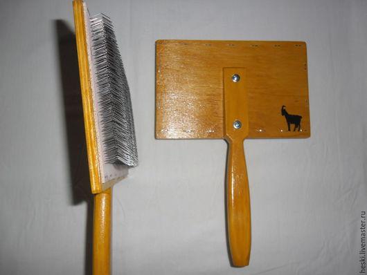 Комплекты аксессуаров ручной работы. Ярмарка Мастеров - ручная работа. Купить Чески для пуха ( цена за 2 штуки). Handmade.