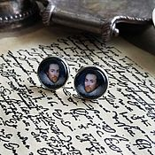 Украшения handmade. Livemaster - original item Silver plated earrings Shakespeare. Handmade.