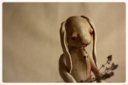 Мишки Тедди ручной работы. Ярмарка Мастеров - ручная работа. Купить Чабрец. Handmade. Бежевый, винтажная игрушка, пасхальный заяц