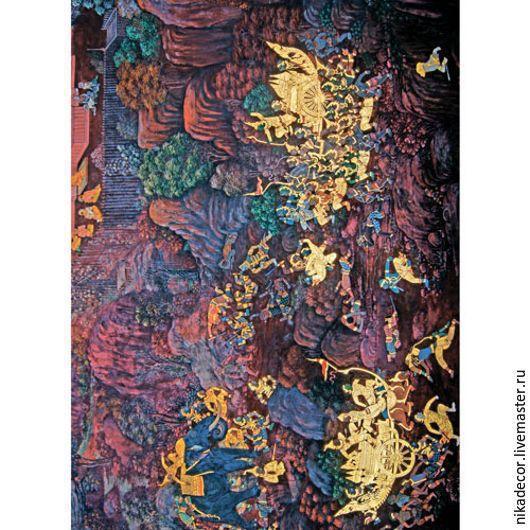 Декупаж и роспись ручной работы. Ярмарка Мастеров - ручная работа. Купить Изумрудный Будда (CPD004) - рисовая бумага, А3. Handmade.