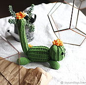 Для дома и интерьера handmade. Livemaster - original item Notocactus. Handmade.