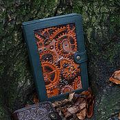 Блокноты ручной работы. Ярмарка Мастеров - ручная работа Блокнот в стиле стимпанк. Handmade.