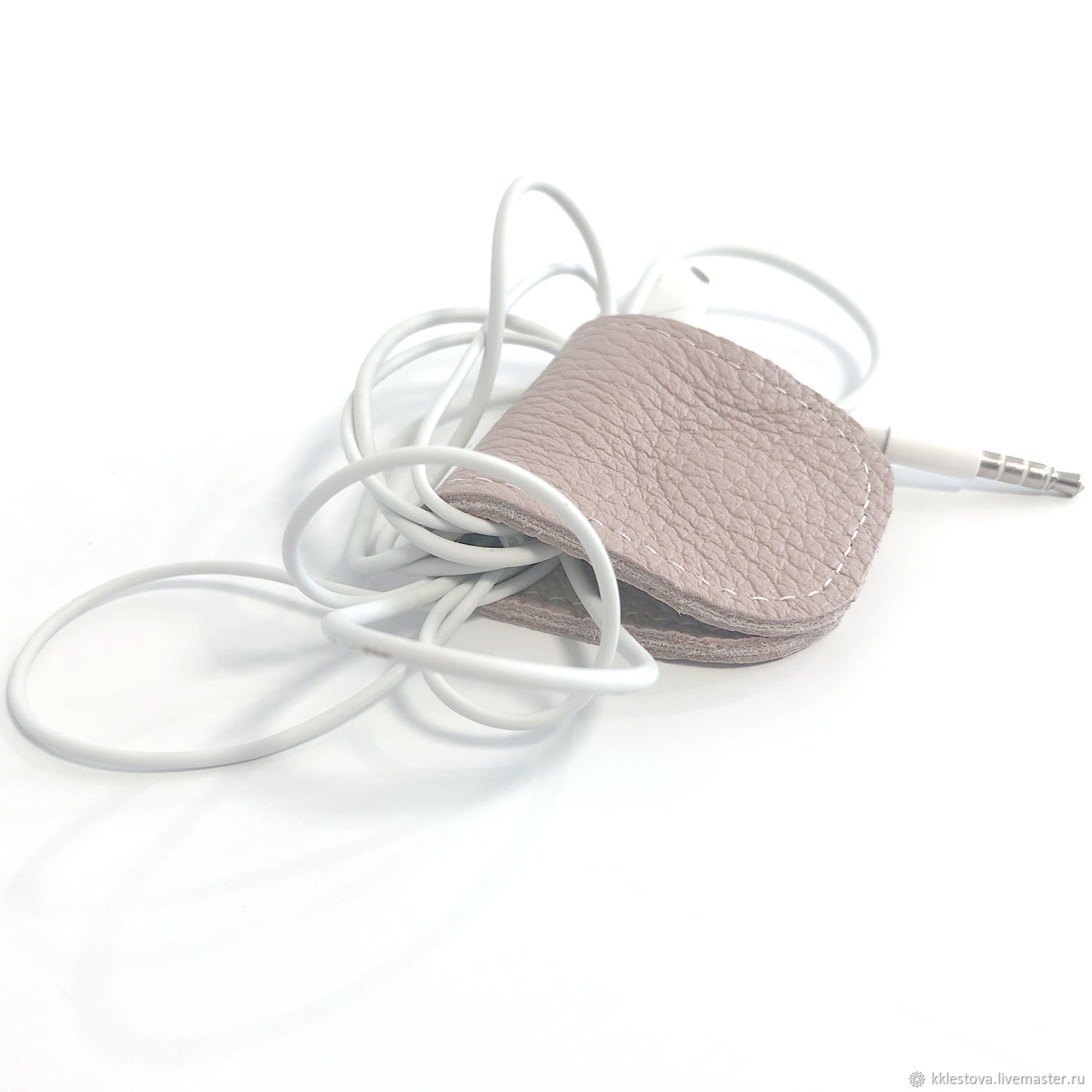 Wallets & Business Card Holders handmade. Livemaster - handmade. Buy Ashes of rose - pink Case organizer headphone wire.