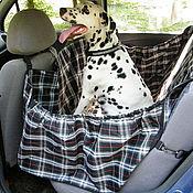 Для домашних животных, ручной работы. Ярмарка Мастеров - ручная работа Автогамак для перевозки собак в машине. Handmade.