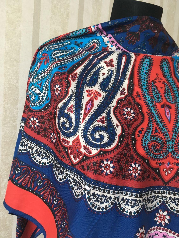 304b08bfab48 Олеся Винтажная одежда и аксессуары. Винтаж  Шелковый платок Etro 100 100.  Олеся.
