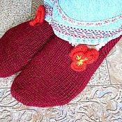 Аксессуары ручной работы. Ярмарка Мастеров - ручная работа Следики, следочки, домашние носочки. Handmade.