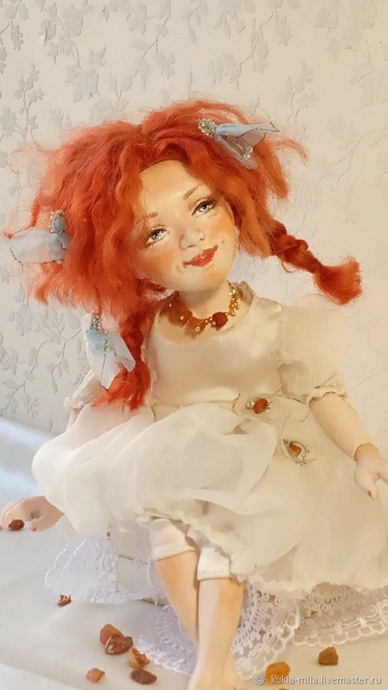 Кукла Рыжий Ангел, Шарнирная кукла, Самара,  Фото №1