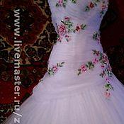 Свадебный салон ручной работы. Ярмарка Мастеров - ручная работа Платье свадебное (любой цвет фатина). Handmade.