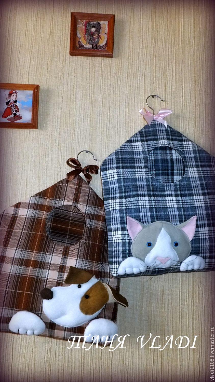 Как сшить кошку пакетницу для кухни