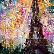 Картины и панно ручной работы. Ярмарка Мастеров - ручная работа Салют, Париж. Handmade.