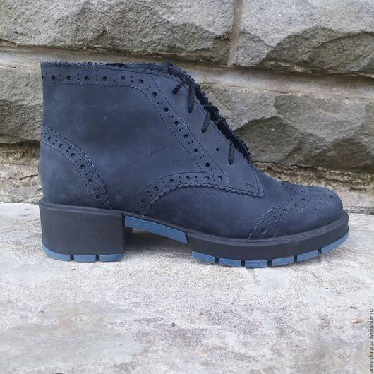 Обувь ручной работы. Ярмарка Мастеров - ручная работа. Купить Ботинки Anna Chaqrua. Handmade. Обувь, натуральная кожа