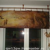 Для дома и интерьера ручной работы. Ярмарка Мастеров - ручная работа шторы. Handmade.