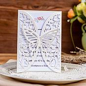 Приглашения ручной работы. Ярмарка Мастеров - ручная работа Приглашение на свадьбу. Handmade.
