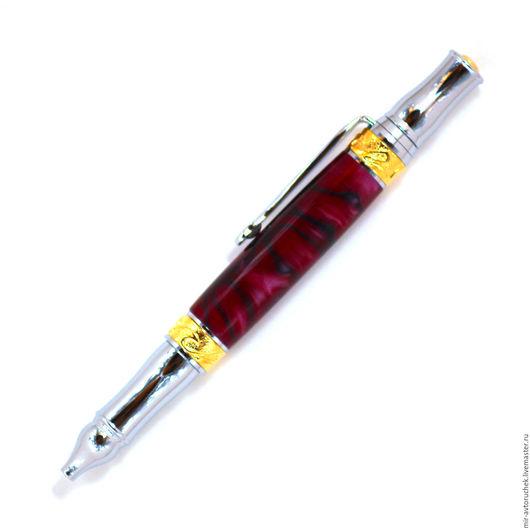 """Карандаши, ручки ручной работы. Ярмарка Мастеров - ручная работа. Купить Авторучка """"Nouveau Sceptre"""" пурпурная. Handmade. Шариковая ручка"""